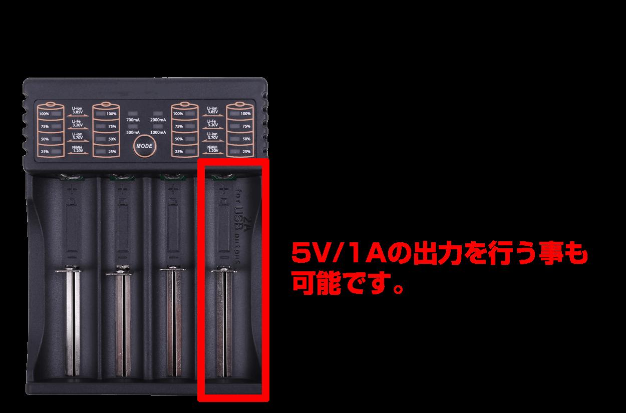 18650充電器・USB出力紹介