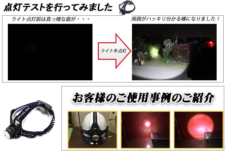 ズーム式ヘッドライト紹介