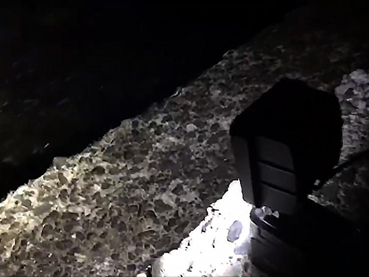 夜釣り・投光器使用写真